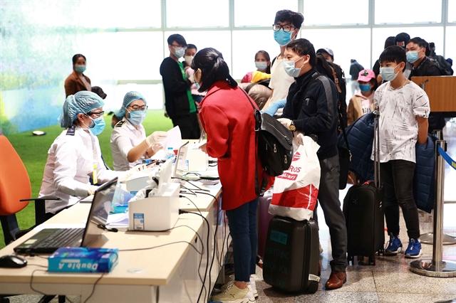 Compulsory health declaration for passengers on domestic flights